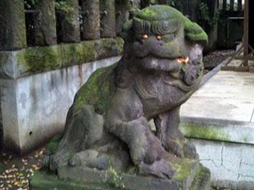 北澤八幡神社 狛犬