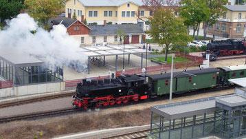 Schmalspurbahn, Tagungszentrum der Sächsischen Wirtschaft, Radebeul