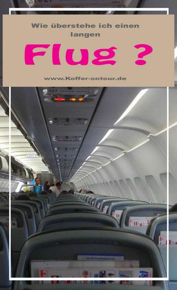 Blick in die Kabine eines Flugzeuges
