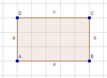 Ein achsensymmetrisches Rechteck