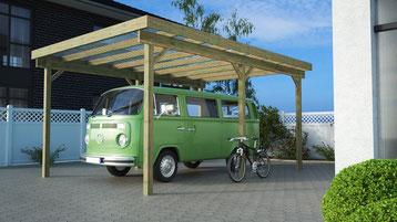 Carport für VW-Bus Transporter, Bully...