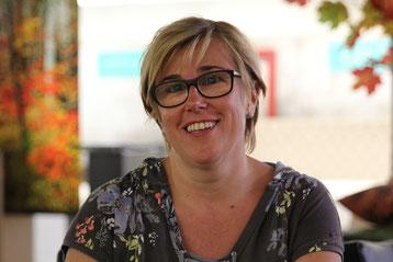 Anita Gaus, Leitung Bettwäsche-Produktion