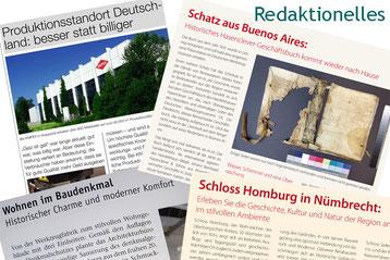 Die Textmamsell: Collage redaktionelle Beiträge (Text, Konzeption)
