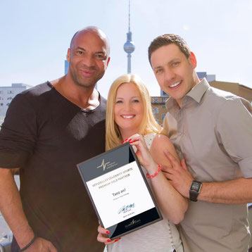 Katja Möhring, Marc-Peter Möhring, Premium Gold Partner, Auszeichung