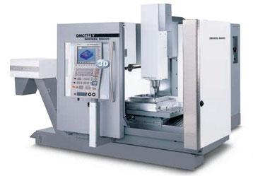 DMG DMC 635 V / 3D-Steuerung: Heidenhain iTNC 530