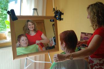 Farbtypanalyse am Spiegel