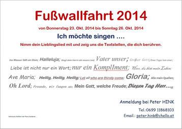 Einladung zur Wallfahrt 2014 (PDF)