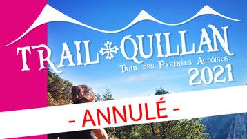 Trail Quillan 2021 annulé