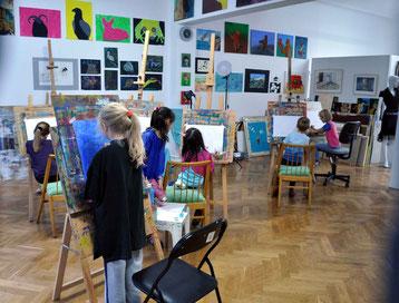 Kunstlehrgänge für Grundschulkinder,  Kunst für Grundschulkinder, Malerei, Zeichnung, Plastisches Gestaltung