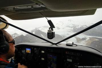 Alaska fotografieren - Flug in den Katmai NP