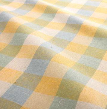 N-0006 遠州綿紬浴衣 檸檬(れもん)