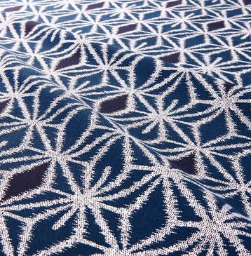 浴衣 A-0003 ジャパネスク 2色麻の葉