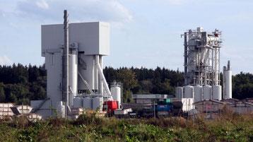 Beispiel einer Asphaltmischanlage