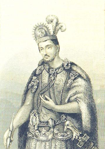 Symbolbild eines Herrschers aus Mittelamerikas