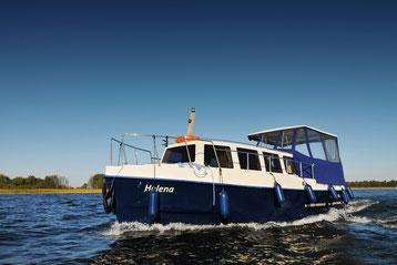 Hausboot MASUREN CRUISER 900| 7 Kojen, 2 große Schlafkabine, 2 m Stehhöhe | ohne Führerschein