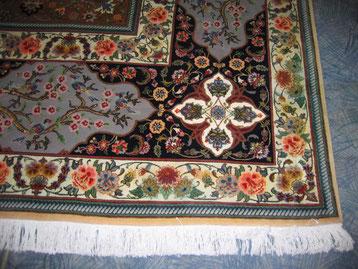 Teppichreinigung-mueden, Leistungen, Bild von verfärbtem Teppich