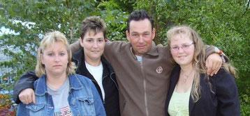 Monika, Elke, Klaus, Stephanie 2007