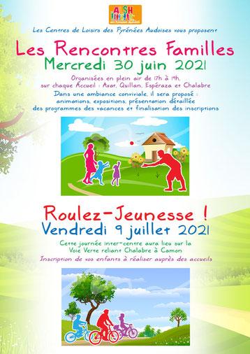 Affiche ALSH des Pyrénées Audoises