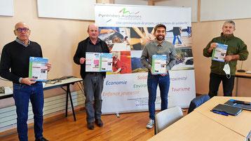 Présentation du premier Journal d'informations des Pyrénées Audoises