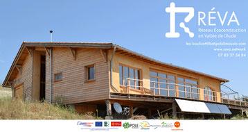 Le RÉVA - Réseau Écoconstruction en Vallée de l'Aude