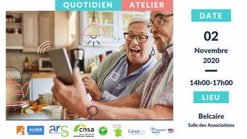 Ateliers informatique pour les séniors de la Communauté de Communes des Pyrénées Audoises