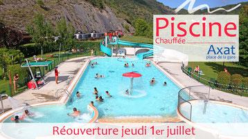 Réouverture de la piscine d'Axat