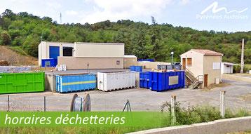 Déchetteries Pyrénées Audoises