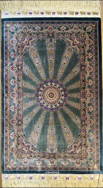 QUMsilk AboulghasemJeddi工房 チャラクサイズ 約120x80