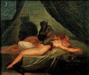Cauchemar - Nicolaj Abraham Abildgaard - 1800