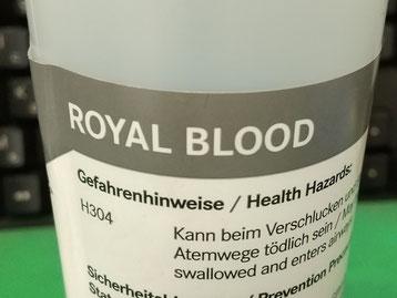 王家の血液油