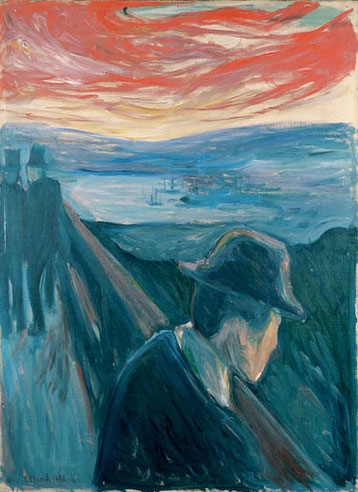 'La Desesperación' de Edvard Munch.