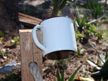 retropot las tazas de siempre retro vintage personaliza acero esmaltado