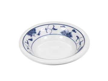 Gewürzschale aus Tatung, Li, Cameo oder Datung Porzellan mit blauem Lotus Motiv (Motivnr. 518 / 255). In verschiedenen Größen und Motiven erhältlich.
