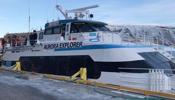 """Unser Schiff """"Aurora Explorer"""""""