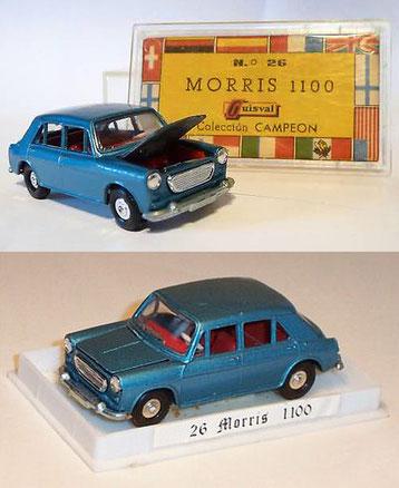 Lleva grabada la placa de matrícula A-82628, que en la realidad le correspondió a un vehículo de 1965.