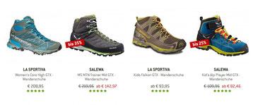Salewa Rapace GTX, bergfreunde, Beste Wanderschuhe