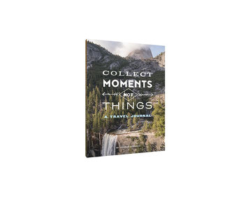 Chronicle Books Collect Moments Not Things Journal