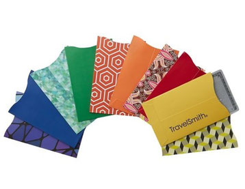 TravelSmith RFID-Blocking Credit-Card Sleeves