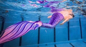 Mermaiding Erlebnisse für Teenager Meerjungfrauenschwimmen als Party Geburtstag Geschenk