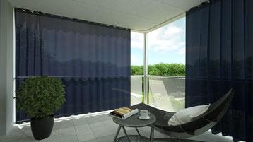 Outdoor-Vorhang / Outdoorvorhang / Vorhangfachgeschäft / Outdoor Vorhang / Aussenvorhang / Vorhangfachgeschäft / Balkonvorhang / Vorhänge by Ruoss