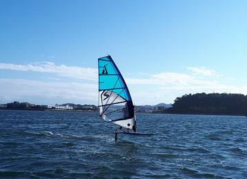 ウインドサーフィン 海の公園 神奈川 横浜 スピードウォール スクール 初心者 体験