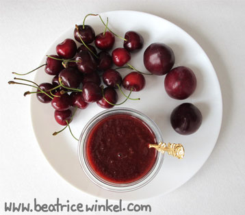 Beatrice Winkel - Kirsch-Pflaumen-Ketchup