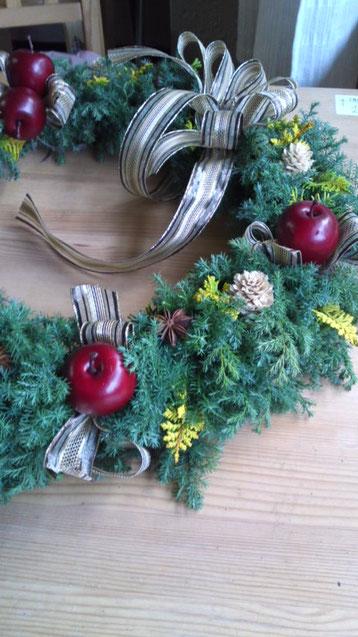 12月クリスマスリース