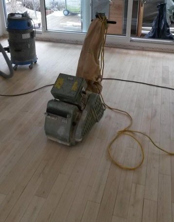 Wir erneuen Ihren Holzboden
