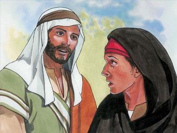 Marthe avait dit à Jésus, après la mort de son frère Lazare : Je sais qu'il ressuscitera lors de la résurrection, le dernier jour. Jésus a prophétisé: Heureux ceux qui sont humbles, car Dieu leur donnera la terre en héritage.