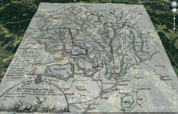 Die Fränkischen Wälder von 1555, Freisoldt