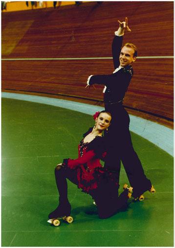 Jessica Walter und Marc Karbowski