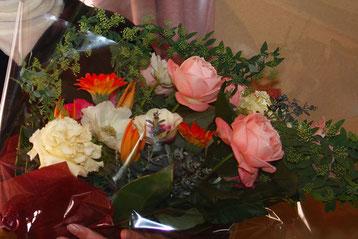 Kenが贈ってくれた花束