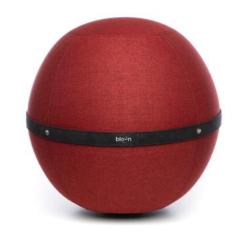 Siège Ballon Bloon Rouge passion ERGOaccessoires.com