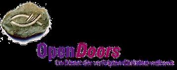 OpenDoors Christenverfolgung Logo